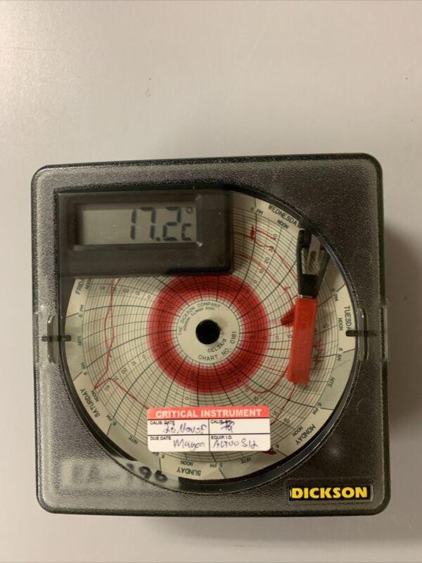Dickson SL4350C7 Chart Recorder