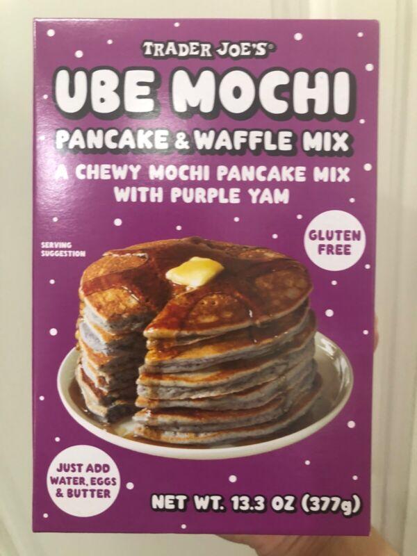 Ube Mochi Pancake Mix