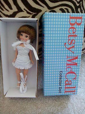 "Tonner 8"" Tiny Betsy McCall 2008 CHESTNUT BASIC DOLL NRFB RARE!"