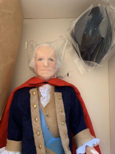 Vtg Effanbee George Washington 1983 Collector s Doll 16 W/Original Tags  - $60.00