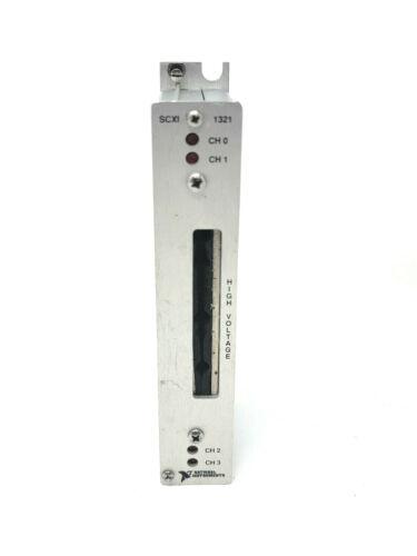 National Instruments NI SCXI-1321 High Voltage Terminal Block
