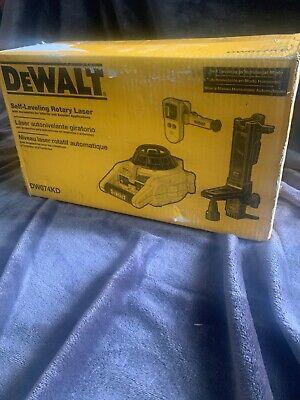 Dewalt Dw074kd 150ft Self Leveling Interiorexterior Rotary Laser Kit