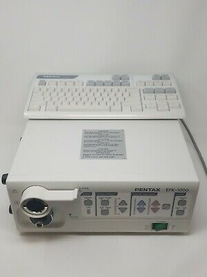 Pentax Epk-1000 Endoscope Processor Os-a50 Keyboard Warranty