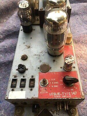 Leslie 147 Amplifier (Hammond B3, C3, A100, etc) No Reserve!