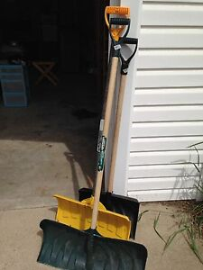 3 SNOW SHOVELS 5.00 EACH