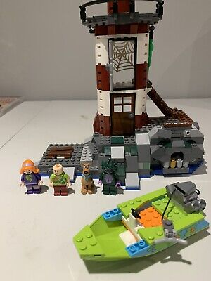 Lego Scoobydoo Lighthouse 75903 Set Incomplete As Is