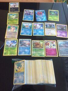 300+ Pokemon cards with 15 holos many holo rares!