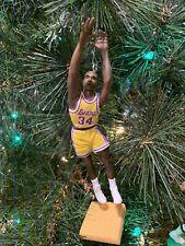 LOS ANGELES LAKERS CHRISTMAS TREE ORNAMENT SHAQ SHAQUILLE ...