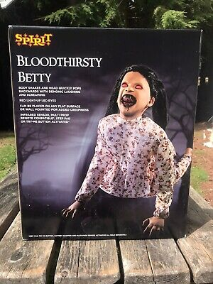 Spirit Halloween Bloodthirsty Betty Rare Htf New Price