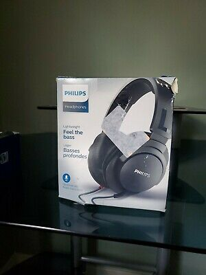Philips SHL2605 Over the Ear Headphones with Mic (Feel the bass)