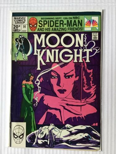 MOON KNIGHT # 14 FIRST STAINED GLASS SCARLET FIRST PRINT MARVEL COMICS
