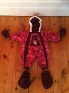 Manteau d'hiver bébé fille 9 mois