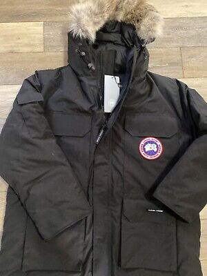 Canada Goose Expedition Parka Mens Size XL Black-NWT