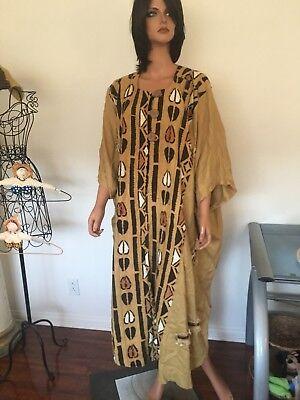 Mina Collection Tone Coat Kimono Linen Bohemian Hip USA Designer Fashion Maxi