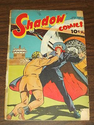 SHADOW COMICS VOL 9 #1 G- (1.5) STREET & SMITH APRIL 1949 G1 Shadow