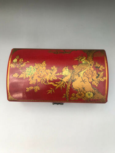 Chinese antique hand made Flowers and birds pattern boxs