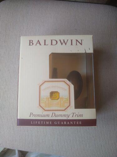 BALDWIN Egg Knob Half Dummy Venetian Bronze 95425.112.IDM