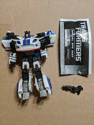 Transformers Reveal The Shield Special Ops Jazz Deluxe Class Figure Hasbro loose