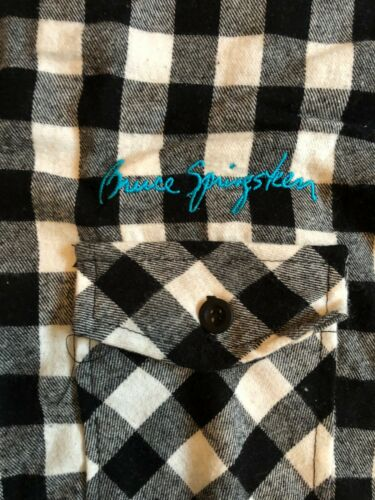 BRUCE SPRINGSTEEN RIVER Tour 2016 Flannel Shirt NEW and NEVER WORN Awesome! 2XL
