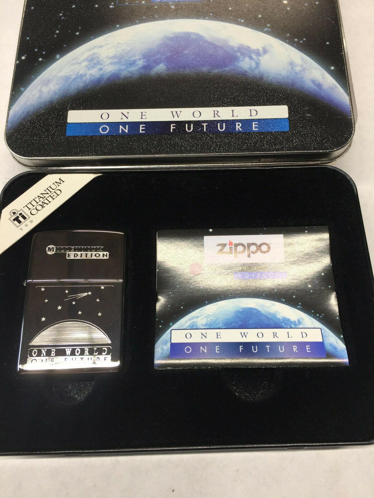 NEW IN BOX - LAST ONE - MILLENNIUM EDITION 1 WORLD TITANIUM