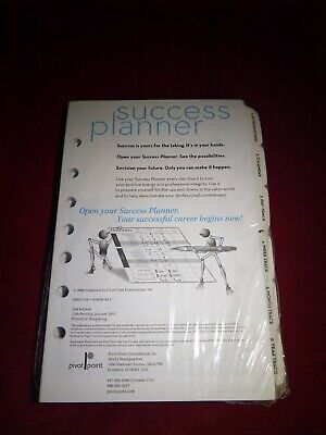 Pivot Point Success Planner Refill Pages