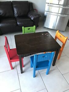 Kidcraft Kids Table and Chairs