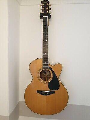 Yamaha LLX6C Electro Acoustic Guitar Taiwan 2006
