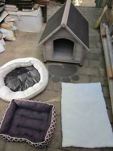 Dog Kennel and Bedding - As new