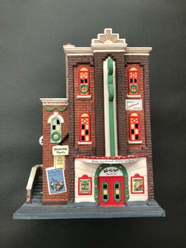 "Dept. 56 Christmas In The City (1997) ""HI-DE-HO NIGHTCLUB"" #5884 w/Original Box"