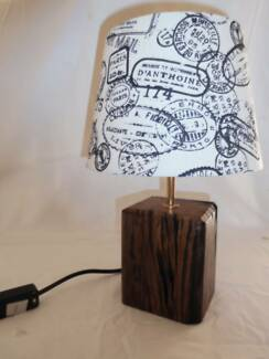 Railway Sleeper Table Lamp