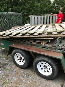 Tons of free fence material