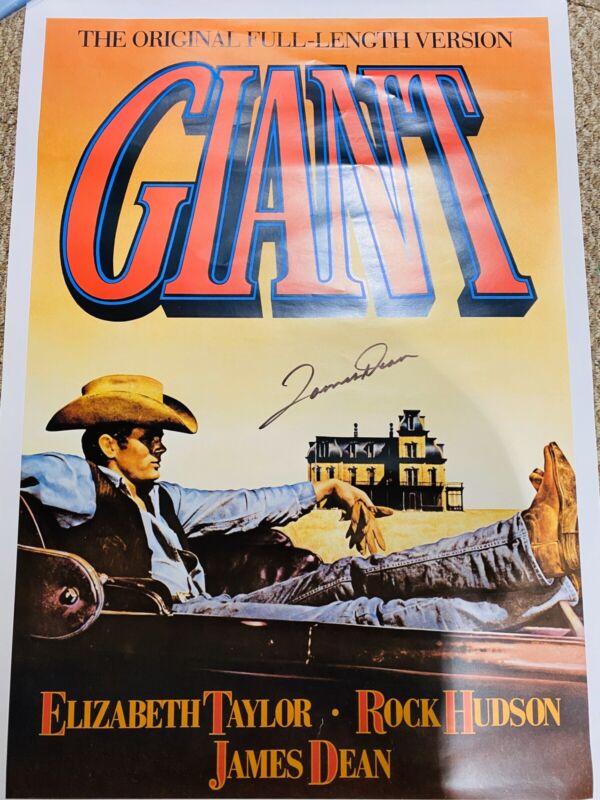 JAMES DEAN Autographed/Signed