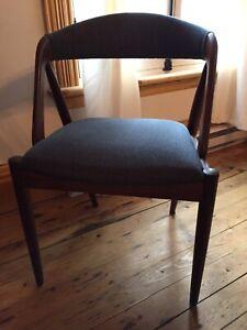 Chaise teck mid century Kai Kristiansen