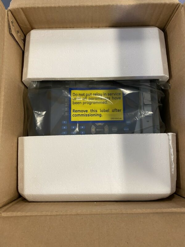 NEW GE MULTILIN 750 FEEDER MANAGEMENT RELAY 750-P5-G5-S5-LO-A20-R-T w/SR750 Case