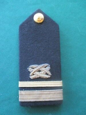 US Navy Lt. JG Civil Engineer Corps Officer Sholder Board Naval Uniform Maker