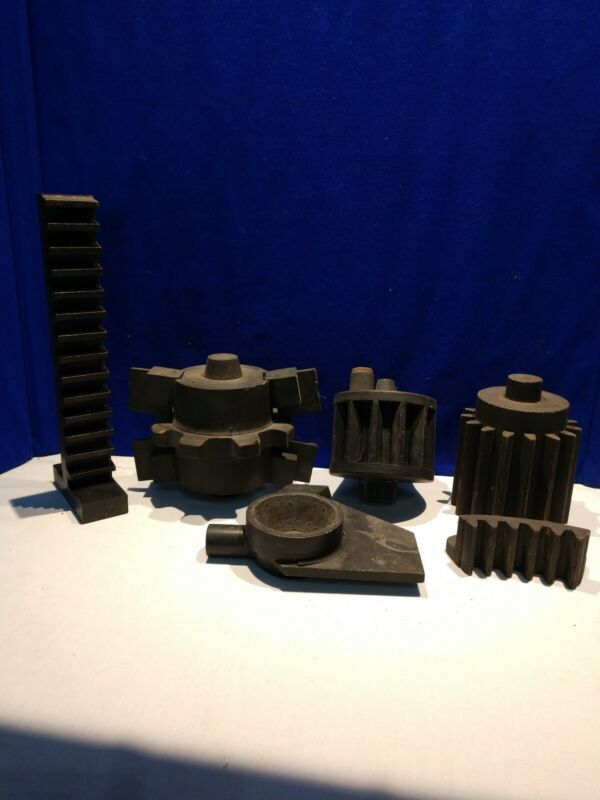 6 PIECE FOUNDRY MOLDS