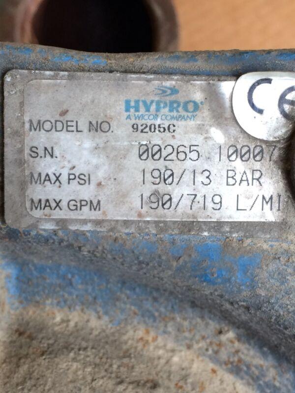 Hypro 9205c Pump