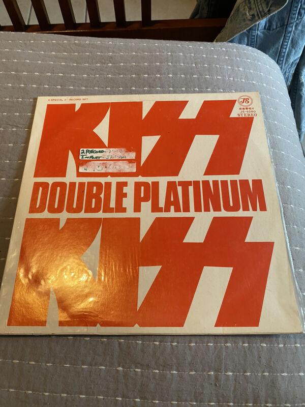 KISS Double Platinum Tawian Pressing