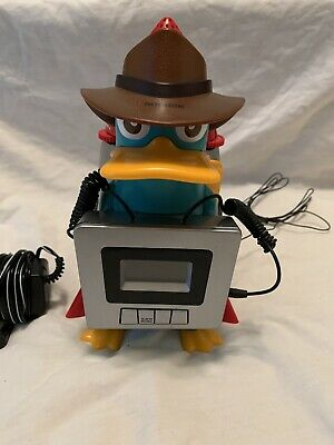 Disney Alarm Clock Radio Perry The Platypus Kids Alarm Clock Phineas And Ferb
