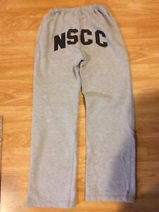 NSCC grey M women's sweatpants