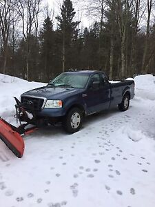 Ford f150 4-4 with hydraulic plow
