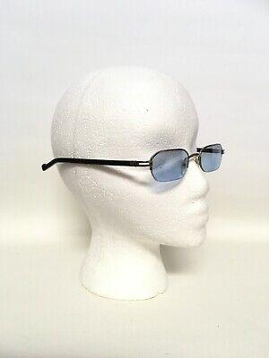 NEW Charriol Eyeglasses Frame, PC 7098 BLUE TINTED LENSES 22KT GOLD (Blue Tinted Eyeglasses)