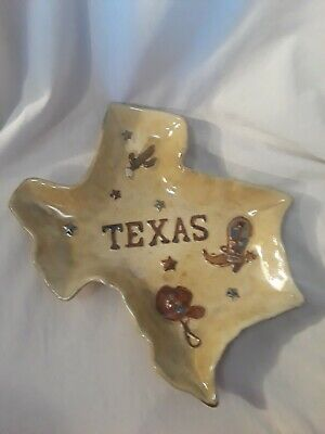 Home Studio Canyon Ranch Texas state Serving Platter - Rustic Country decor
