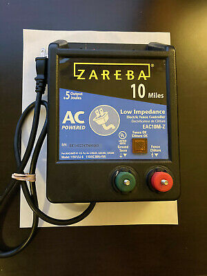 Zareba 10-mile Ac Low Impedance Electric Fence Controller Eac10m-z