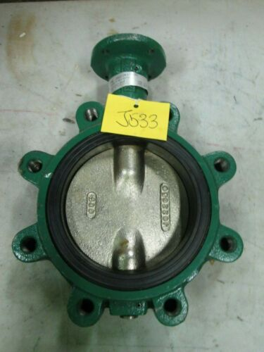 "Cameron Cooper Demco Flow Control Lug Style Butterfly Valve 6"" Lug Type (New)"