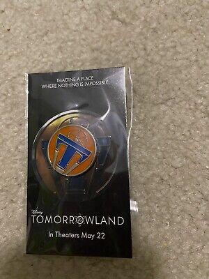 Disney Tomorrowland Movie Release Pin 2015 Walt Disney World Promo