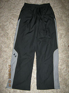 NWT Under Armour Men's All Season Gear Athletic Fully Lined Zip Leg Pants