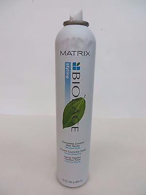MATRIX BIOLAGE COMPLETE CONTROL HAIR SPRAY 10 OZ  GREEN LEAF!