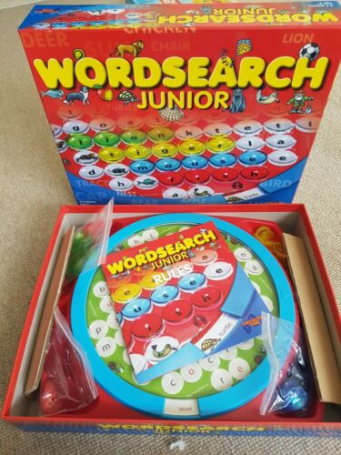 WordSearch Junior Board Game excellent  condition