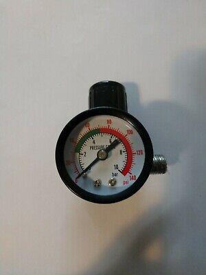 Compressor Air Pressure Gauge Relief Regulating Regulator Valve With 8mm Fitting